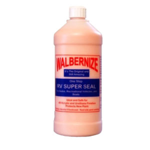 Walbernize 32oz wax for RV's, boats and planes